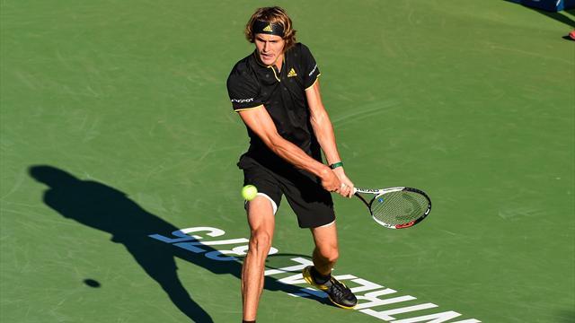 Зверев обыграл Федерера в финале турнира в Монреале