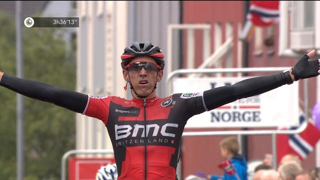 Dylan Teuns takes Stage 1 of Arctic Race