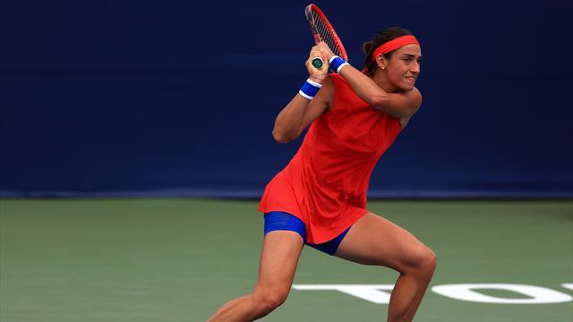 Caroline Garcia qualifiée pour les quarts — Toronto