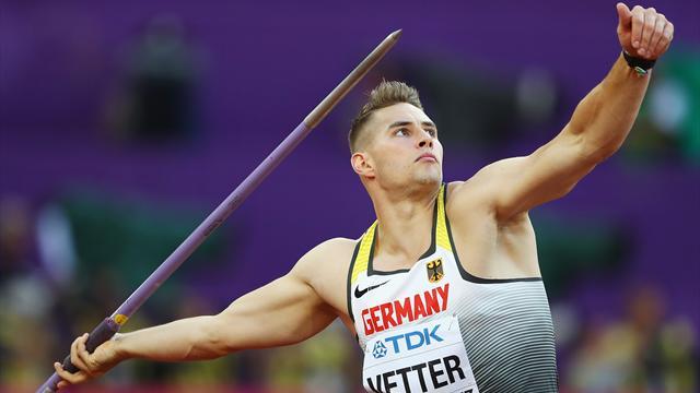 Speerwurf-Weltmeister Vetter bestätigt starke Form