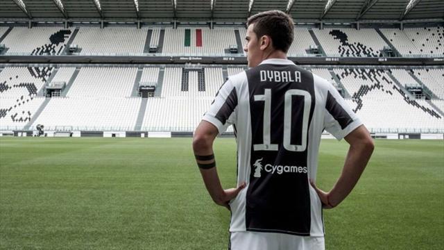 """Dybala: """"Che onore! Spero di essere all'altezza di Del Piero e gli altri '10' della Juventus"""""""