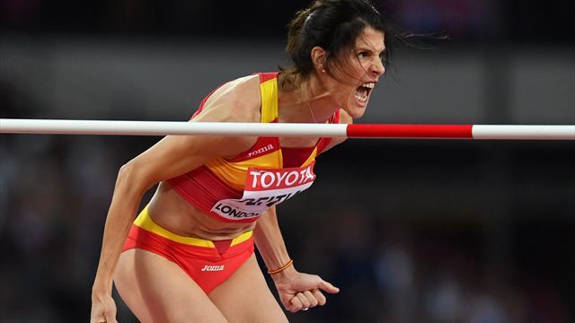 Mundial Londres 2017: Ruth Beitia se despide de la final tras no superar el listón de 1.92