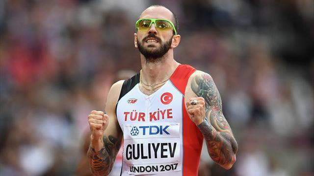 Türkiye tarihinde ilk kez Dünya Atletizm Şampiyonası 4x100 finalinde