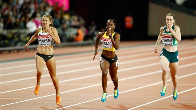 Hauchdünn: Haase verpasst Finale über 200 m