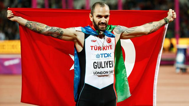 Guliyev beats Van Niekerk to win dramatic 200m