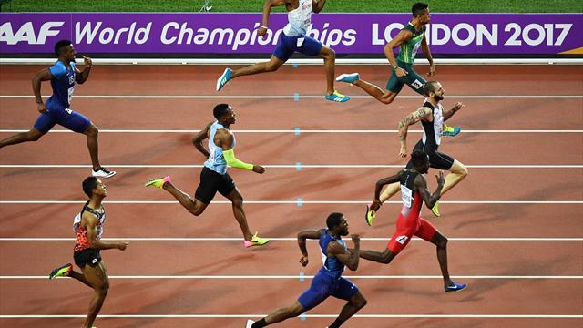 Comment Guliyev a résisté à Van Niekerk et Richards : Revivez la finale du 200m
