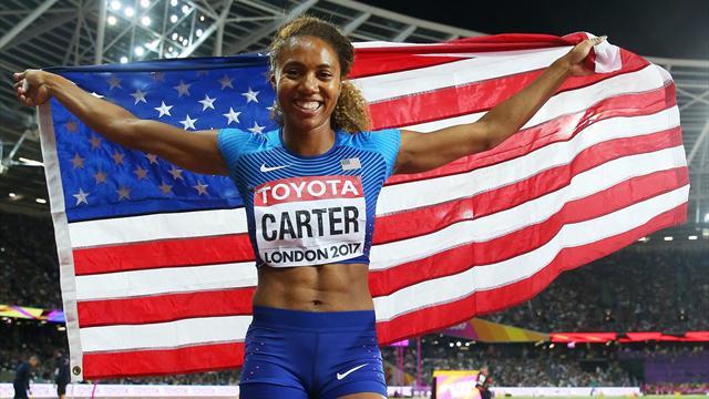 Американки взобрались на топ-ступени пьедестала в забеге на 400 метров с барьерами