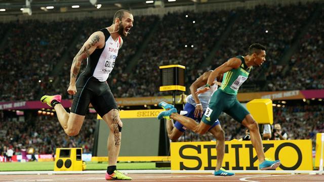 Как азербайджанец, который выступает за Турцию, взял золото в забеге на 200 метров
