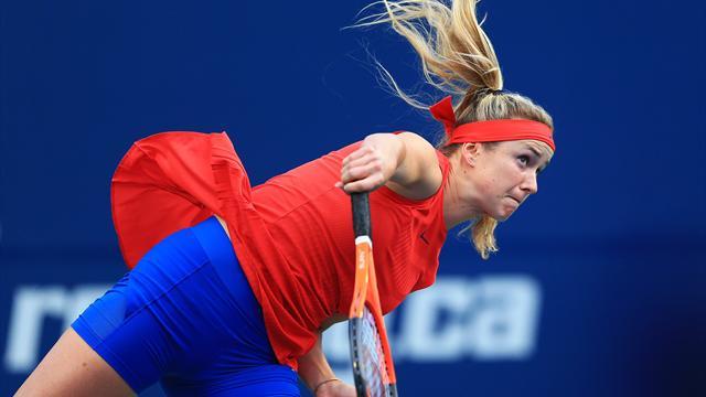 Svitolina impressionne face à Halep et rejoint Wozniacki en finale