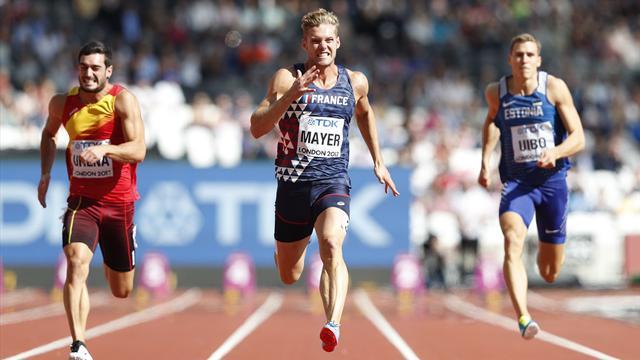Un 100m parfait et un record personnel pulvérisé : revivez la course de Kevin Mayer