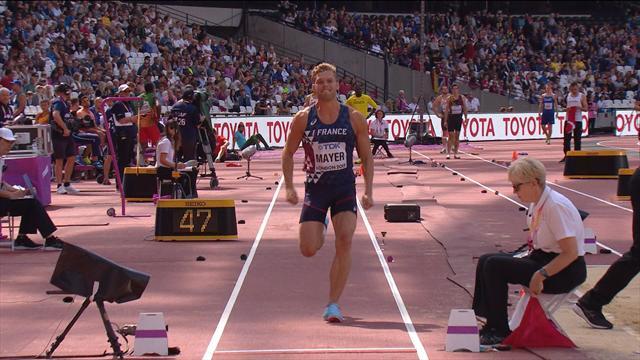 7,52 m au dernier essai : Mayer a encore performé à la longueur