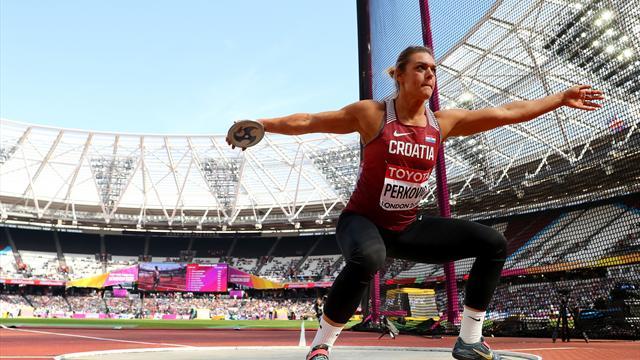 Перкович во второй раз стала чемпионкой мира в метании диска