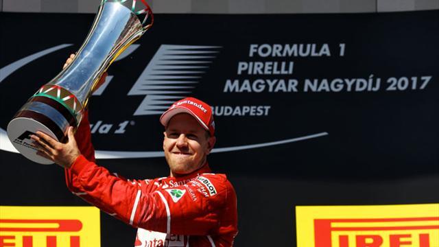 Vettel imzayı attı