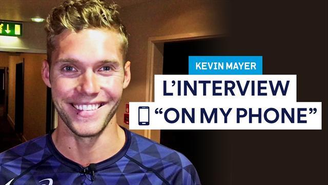 Appli de rencontre, jeu, contact le plus célèbre ? Bienvenue dans le téléphone de Kevin Mayer
