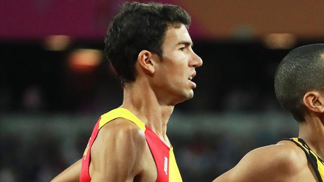 Mundial Londres 2017: Adel Mechaal se queda a 18 centésimas del bronce