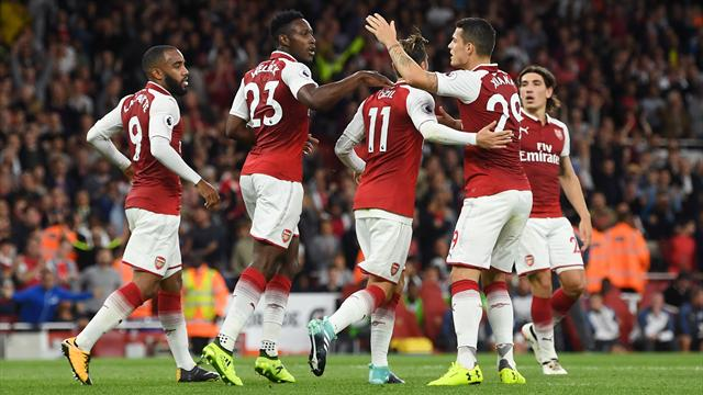 Danny Welbeck pleased with Arsenal spirit in win over Leicester