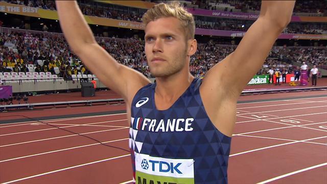 Sur 400m, Mayer a fini sa journée comme il l'avait commencée : par un record personnel