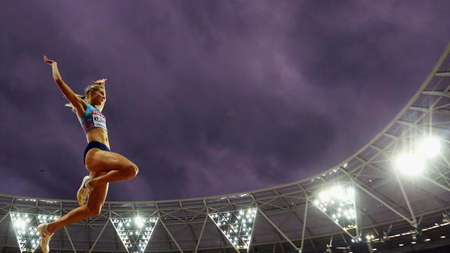 Как Клишина стала вторым спортсменом из России, завоевавшим медаль на ЧМ-2017