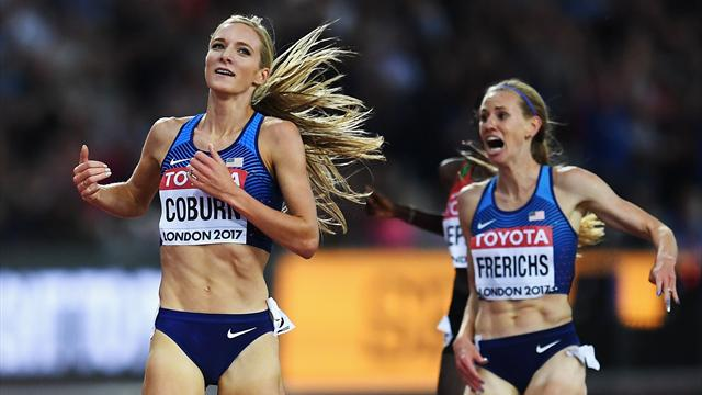 Coburn, Frerichs complete shock US one-two in steeplechase