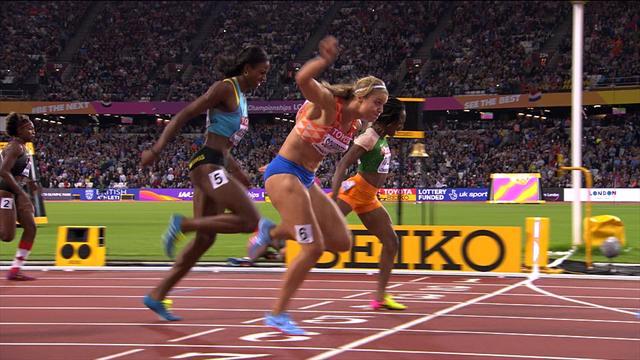 2017 Dünya Atletizm Şampiyonası: 200 metrenin kraliçesi bir kez daha Dafne Schippers