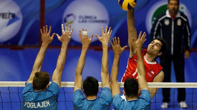 Argentina vence a Chile y queda en tercer lugar del Sudamericano de Voleibol