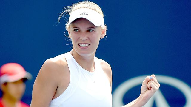 Wozniacki upsets world number one Pliskova in Toronto
