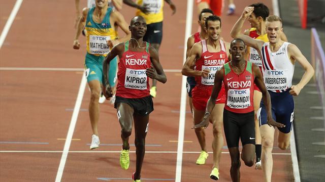 Kiprop earns crack at El Guerrouj's four 1500m crowns