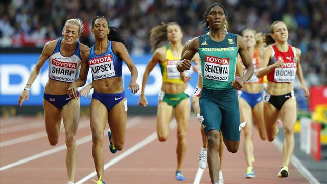Sharp reprieved after initial disqualification from 800m