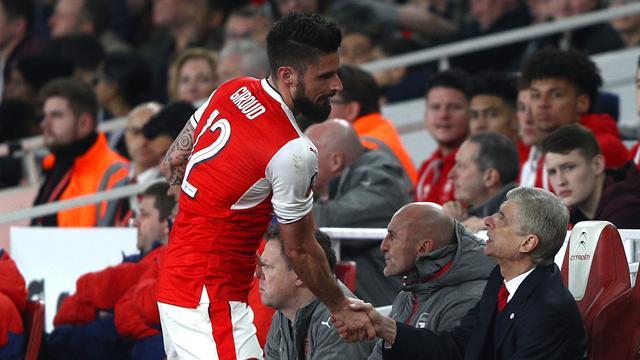 """Wenger: """"Je ne voulais pas que Giroud parte"""""""