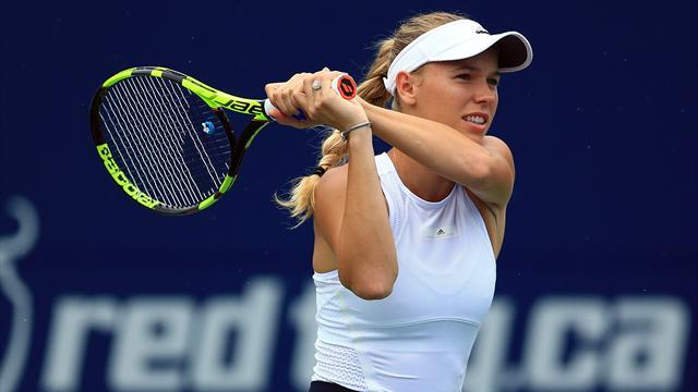 Premiere! Wozniacki feiert ersten Sieg gegen Nummer eins der Welt