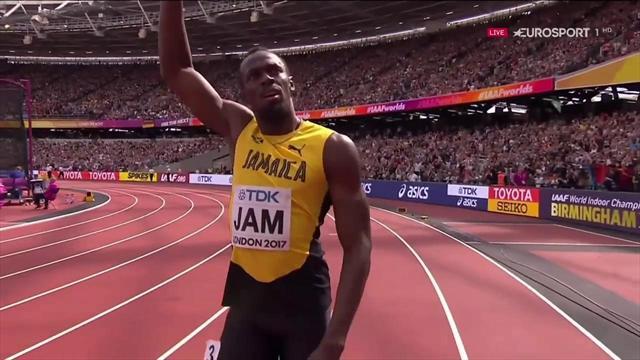 Jamaica, con Bolt a la cabeza, se clasifica para la final de los 4x100 metros