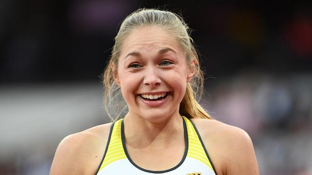 Leichtathletik-WM: Lückenkemper führt Staffel ins Finale