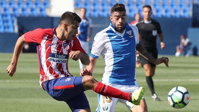El Atlético de Madrid se impone al Leganés en su último amistoso de la pretemporada (0-1)