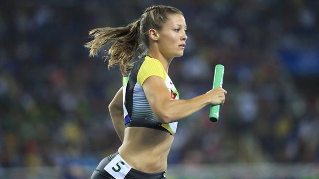 Frauen-Staffel läuft ins WM-Finale über 4x400 m