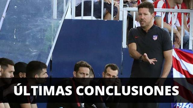 El Atlético cierra la pretemporada con victoria y gol de un canterano
