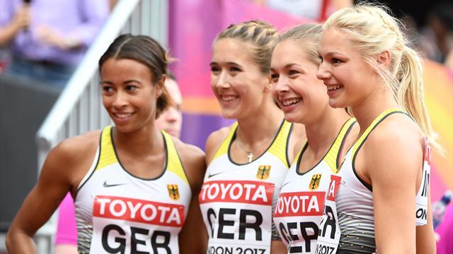 Klasse Vorstellung! Deutsche Frauenstaffeln preschen ins Finale