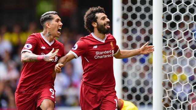 Gol, spettacolo e difese ballerine: Salah segna ma il Liverpool non vince, 3-3 col Watford
