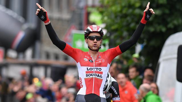 BinckBank Tour: Wellens gewinnt vorletzte Etappe, Dumoulin übernimmt Gesamtführung
