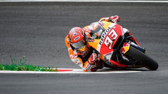 Championship leader Marc Marquez claims third straight pole in Austria