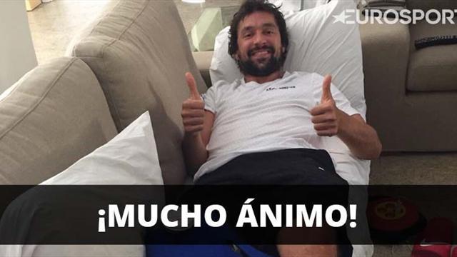 """Sergio Llull, operado con éxito tras su lesión: """"Ha salido genial"""""""