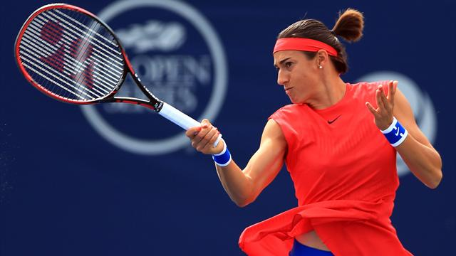 Caroline Garcia éliminée en quart de finale par Simona Halep (6-4, 6-2)