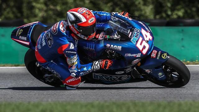 Segunda mejor clasificación consecutiva de Mattia Pasini