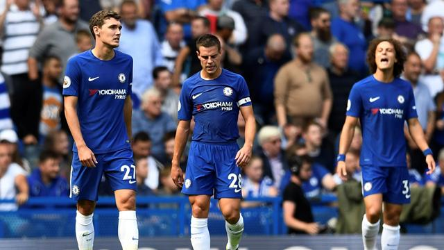 Nine-man Chelsea downed by Burnley