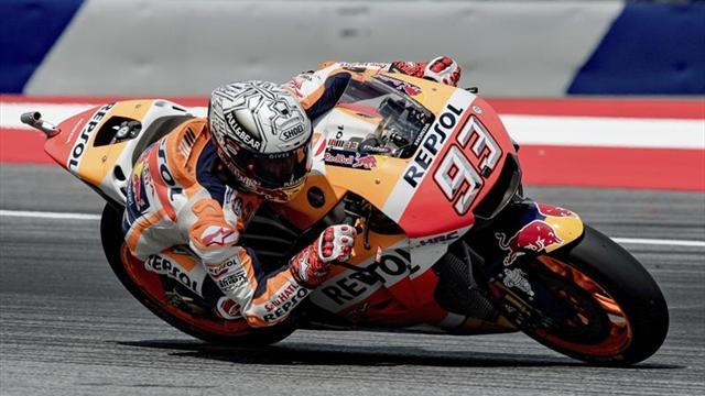 Márquez suma su quinta mejor clasificación del año y bate a las Ducati