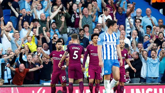 Il Brighton resiste 70 minuti, poi il Man. City apre e chiude la gara: è 0-2