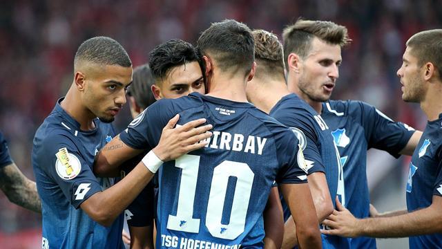 Hoffenheim erreicht mit Mühe nächste Runde