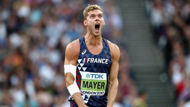 """Mayer : """"Sur la barre à 5,10m, je me disais : 'tu joues ta vie'"""""""