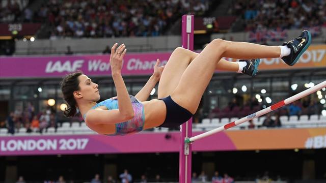 Ласицкене взяла золото в прыжках в высоту