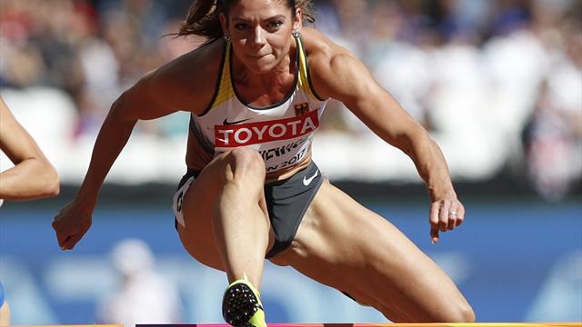 Dutkiewicz gewinnt WM-Bronze über 100 m Hürden