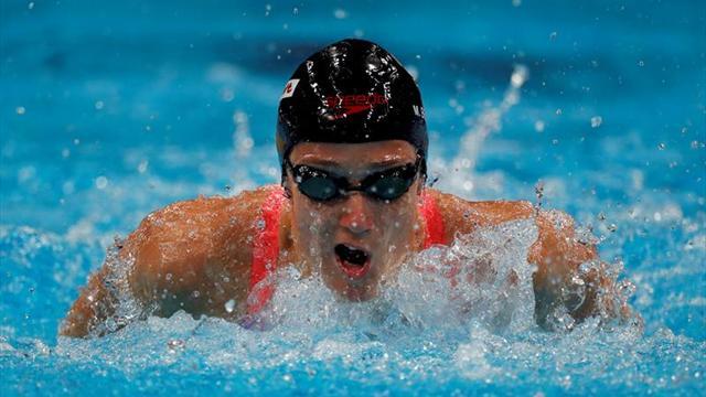 Mireia Belmonte, oro y récord el mundo en 400 estilos en Eindhoven